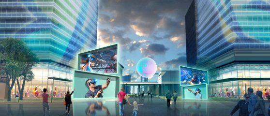 南昌VR主题乐园艺术装置