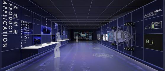 宁德时代新能源企业展厅