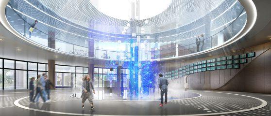 渤海先进技术研究院展示大厅